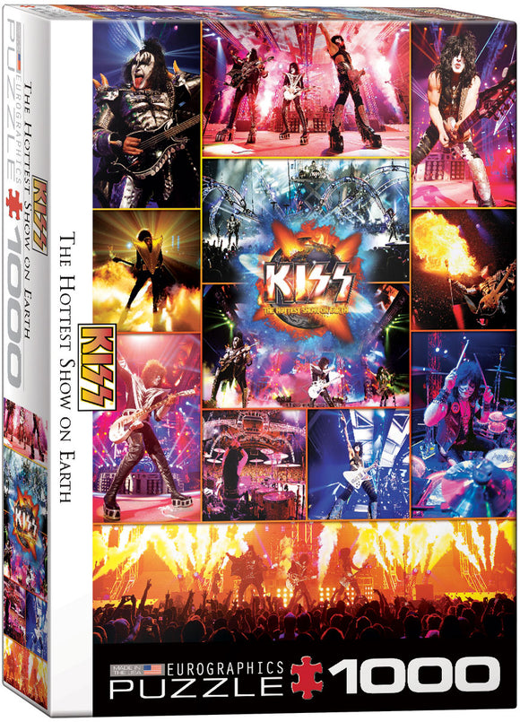 EuroGraphics Kiss - The Hottest Show on Earth 1000-Piece Puzzle
