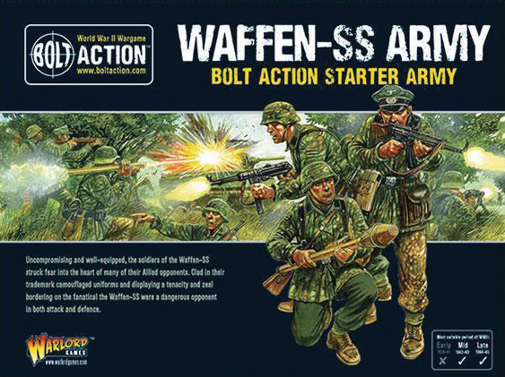 Bolt Action: German Waffen SS Starter Army