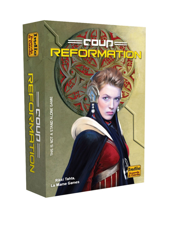 Coup: Reformation Expansion 2nd Edition
