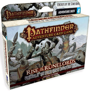 Pathfinder Adventure Cardgame: Rise of the Runelords- Fortress of the Stone Giants