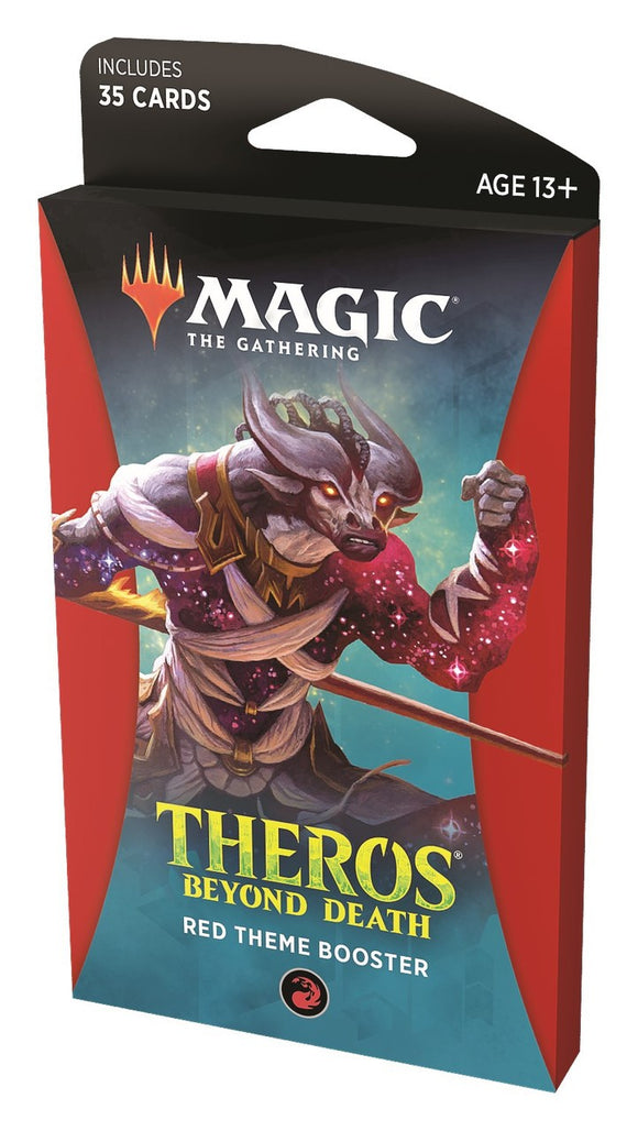 Magic: The Gathering - Theros Beyond Death Theme Booster RED