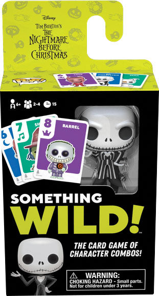 Something Wild Card Game: Nightmare Before Christmas