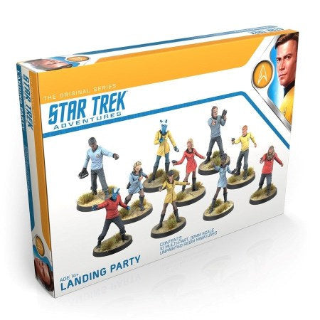 Star Trek Adventures RPG: Minis Set - Original Series Landing Party