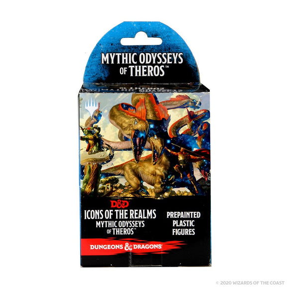 Dungeons & Dragons Fantasy Miniatures: Icons of the Realms Mythic Odysseys of Theros Booster