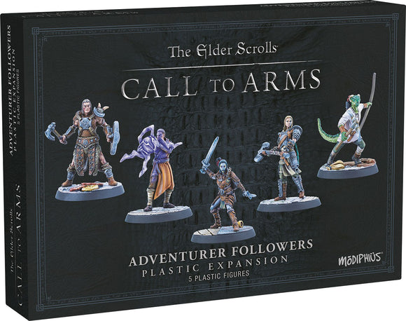 Elder Scrolls: Call to Arms - Adventurer Followers