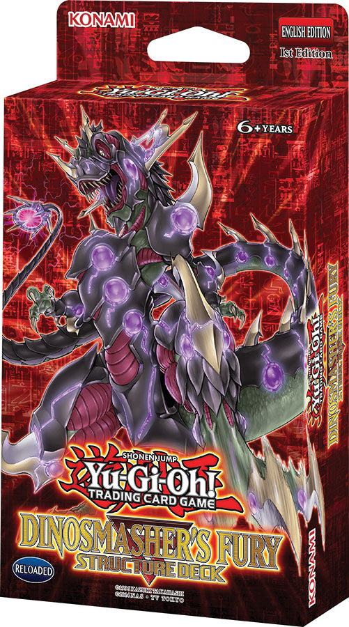 Yu-Gi-Oh! TCG: Dinosmasher`s Fury Structure Deck