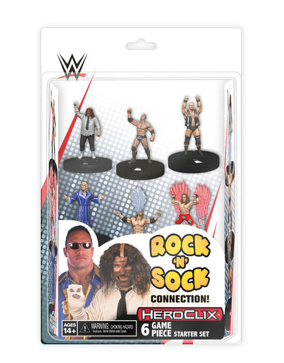 WWE HeroClix: The Rock `n` Sock Connection 2-Player Starter Set