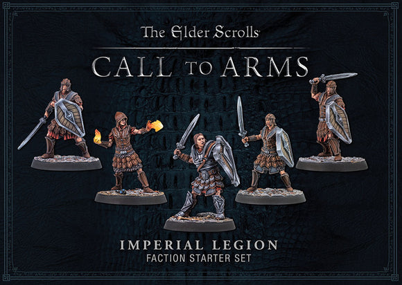 Elder Scrolls: Call To Arms: Imperial Legion Plastic Faction Starter