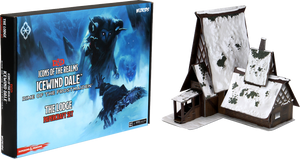Dungeons & Dragons Fantasy Miniatures: Icons of the Realms Icewind Dale: Rime of the Frostmaiden - The Lodge Papercraft Set