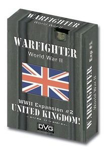 Warfighter WW2 Tactical Combat Card Game - Expansion 2 (United Kingdom 1)