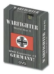 Warfighter WW2 Tactical Combat Card Game - Expansion 3 (Germany 1)