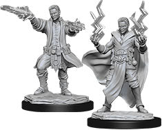 Dungeons & Dragons Nolzur`s Marvelous Unpainted Miniatures: W12 Male Human Sorcerer