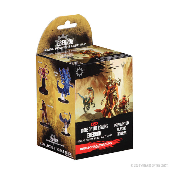 Dungeons & Dragons Fantasy Miniatures: Icons of the Realms: Eberron: Rising from the Last War Booster