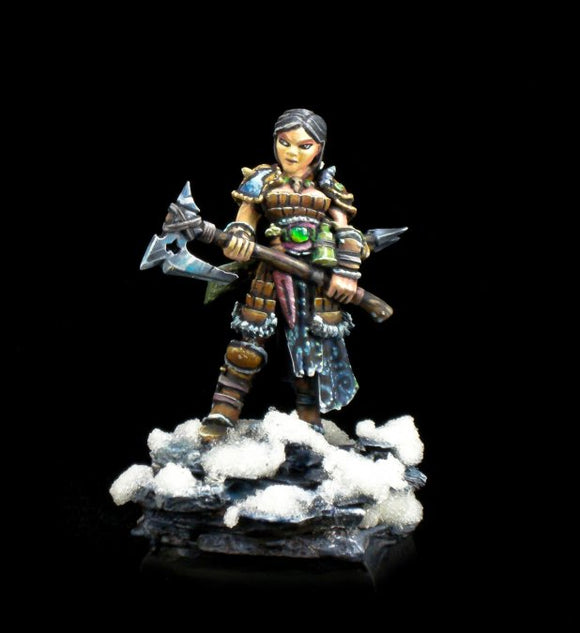 Hanei, Female Warrior UNPAINTED