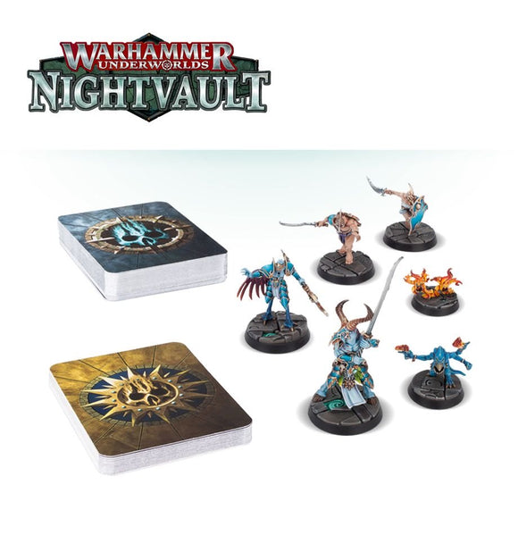 Warhammer: Underworlds - Nightvault Eyes of The Nine