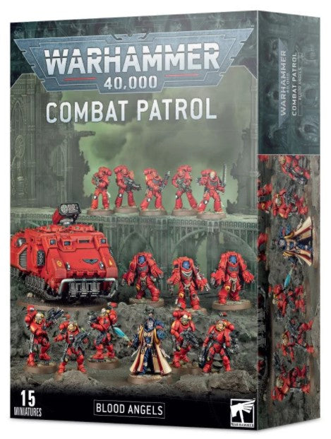 Warhammer 40,000 - Blood Angeles Combat Patrol