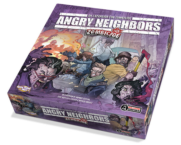 Zombicide: Angry Neighbors - An Expansion for Zombicide