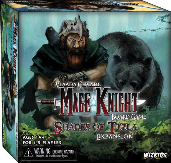 Mage Knight Board Game: Shades of Tezla Expansion Set