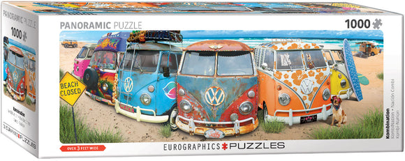 EuroGraphics Kombination 1000-Piece Puzzle