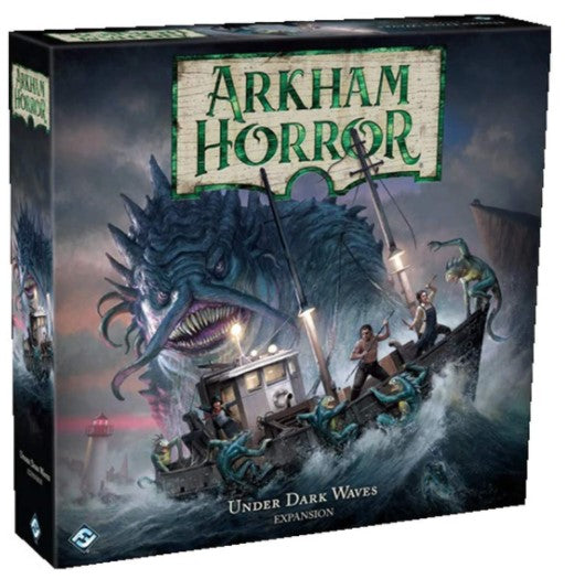 Arkham Horror Board Game 3rd Edition - Under Dark Waves Expansion