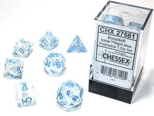 7-Die Set Borealis Luminary: Icicle/Light Blue
