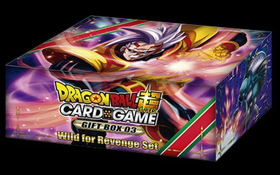 Dragon Ball Super Card Game: Gift Box 3 (Wild for Revenge Set)