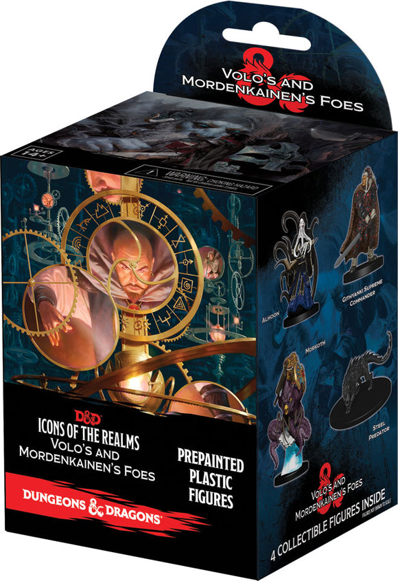 Dungeons & Dragons Fantasy Miniatures: Icons of the Realms Set 13 Volo & Mordenkainen`s Foes Booster