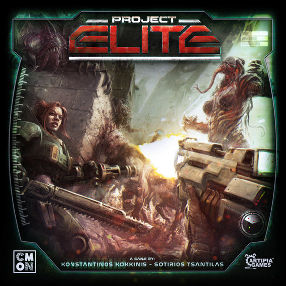 PROJECT: Elite Core Game (includes TERRAN KS box)