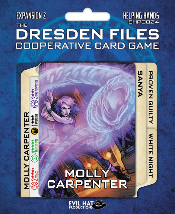 The Dresden Files Cooperative Card Game: Expansion 2 - Helping Hands