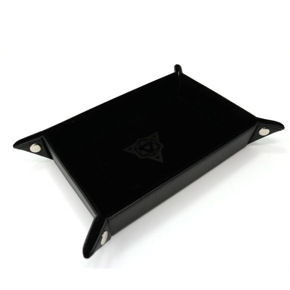 Table Armor Folding Dice Tray (Rectangle) w/ Black Velvet