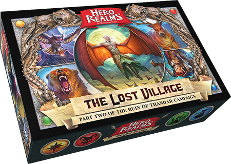 Hero Realms: The Ruin of Thandar Part 2 The Lost Village Campaign Deck