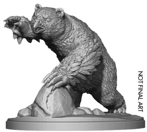 Dungeons and Dragons RPG: Icewind Dale: Rime of the Frostmaiden - Snowy Owlbear (1 fig)