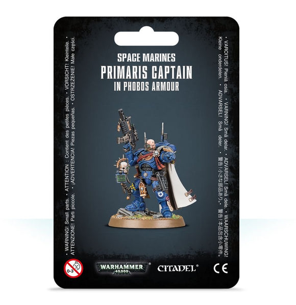 Warhammer 40,000 - Space Marines Primaris Captain in Phobos Armour