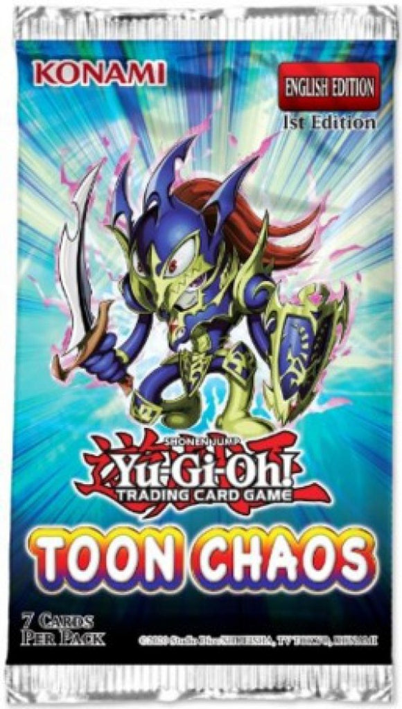 Yu-Gi-Oh! TCG: Toon Chaos Booster Pack - Limited Edition