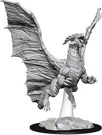 Dungeons & Dragons Nolzur`s Marvelous Unpainted Miniatures: W8 Young Copper Dragon