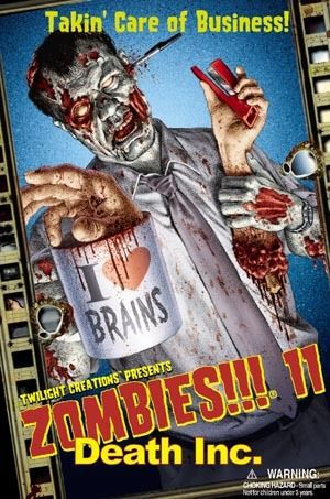 Zombies!!!: #11 Death Incorporated