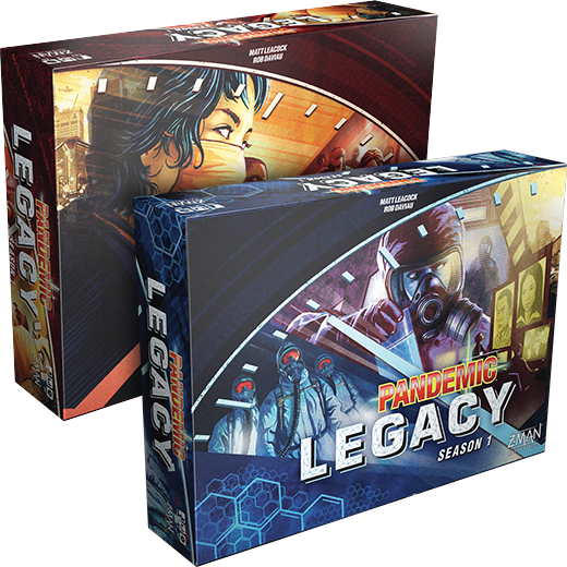 Pandemic: Legacy Season 1 - Stand Alone