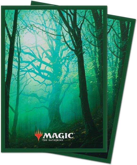 Deck Protectors: MTG  Unstable Deck Protector Sleeves (100 count) Forrest