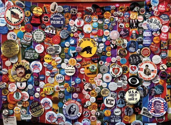 CONSIGNMENT - The Edge: Button Collection 1000 Piece Jigsaw Puzzle