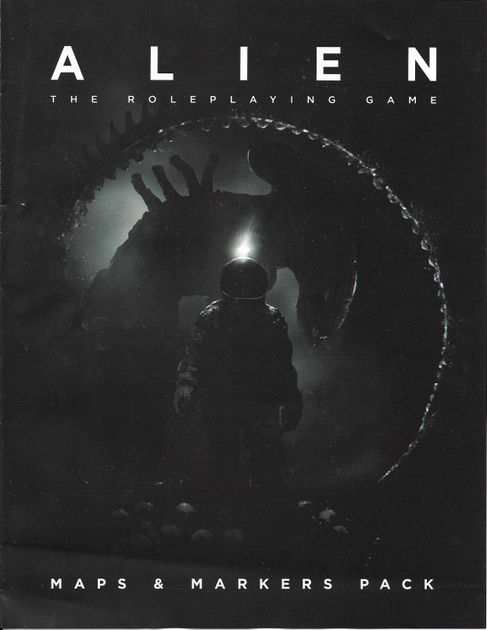 Alien RPG: Maps & Markers Pack