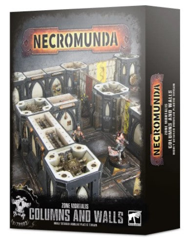 Warhammer 40,000 - Necromunda Zone Mortalis Columns and Walls