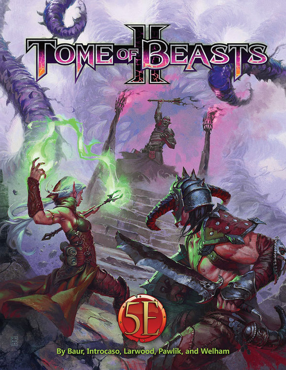 Dungeons and Dragons RPG: Tome of Beasts II Hardcover