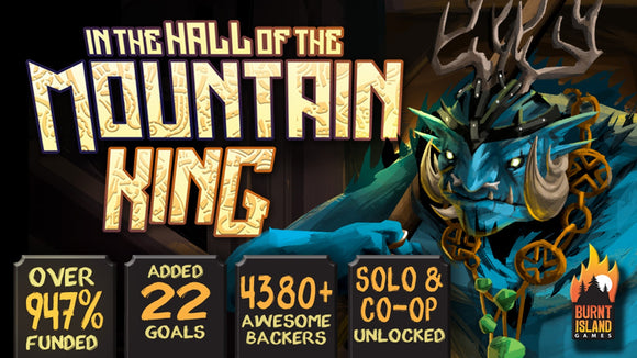 In The Hall of The Mountain King - KICKSTARTER EDTION (Deluxe Version, Includes Solo/Co-Op Modes)