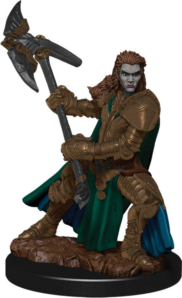 D&D Icons of the Realms: Premium Miniature - Orc Male Fighter