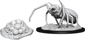 Dungeons & Dragons Nolzur`s Marvelous Unpainted Miniatures: W12 Giant Spider & Egg Clutch