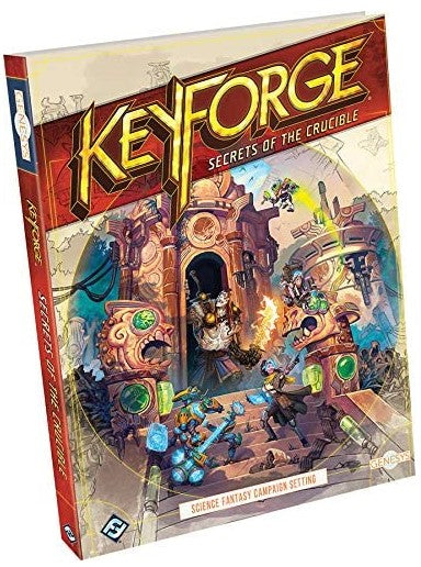 Genesys RPG: Keyforge - Secrets of The Crucible Hardcover