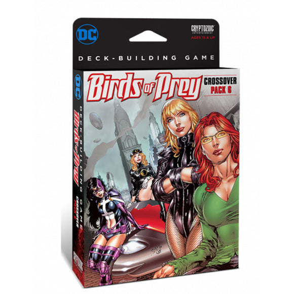 DC Comics DBG: Crossover- 6 Birds of Prey