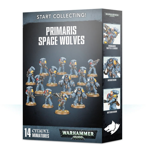 Warhammer 40,000 - Start Collecting! Primaris Space Wolves