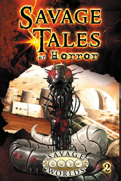 Savage Worlds RPG: Savage Tales of Horror - Volume 2 (Softcover)