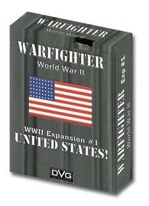 Warfighter WW2 Tactical Combat Card Game - Expansion 1 (United States 1)
